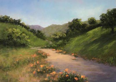 Spring in BloomLynn Humphrey, 12x16, Pastel mounted on pastel board