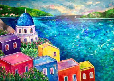 Amalfi View, Sue Slater