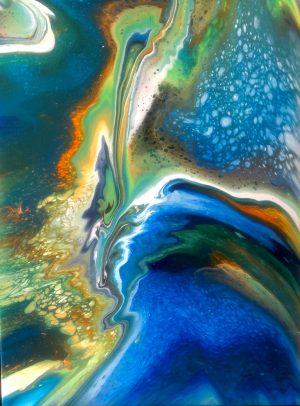 DonaMarinoWieckowski_Turtle-Cove-Reef_Acrylic-on-Canvas_18x24