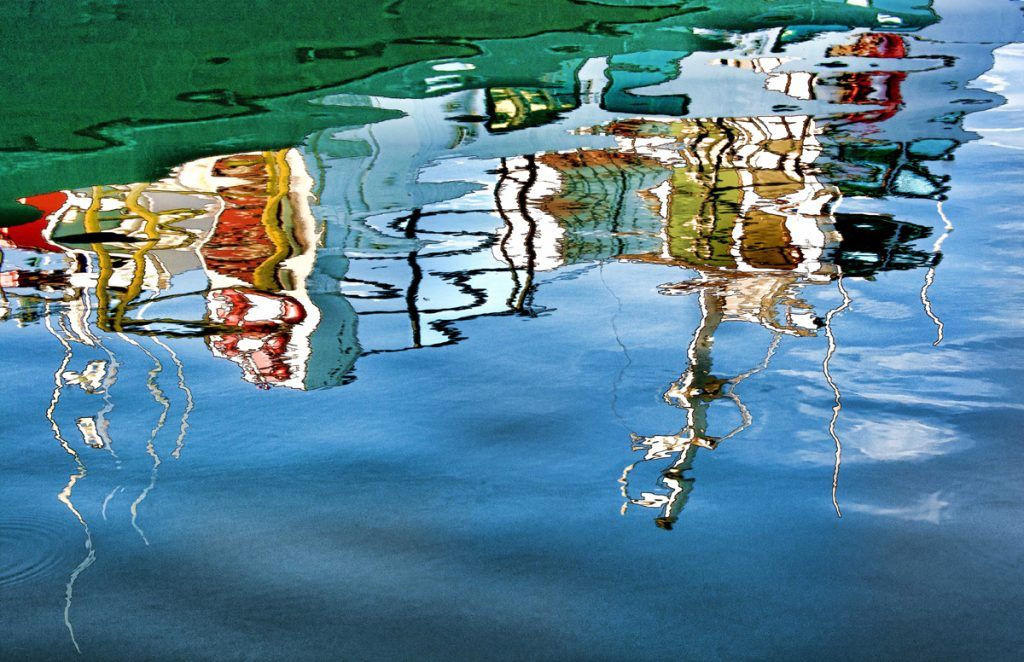Darlene Roker Ripples Photo On Aluminum 16x24 2
