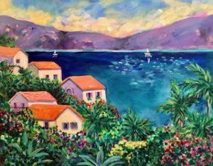 Sue Slater SB Riviera Impressions 20x24
