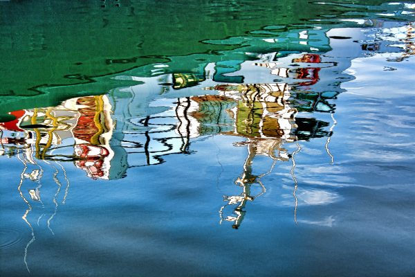 Darlene Roker Ripples Photograph on aluminum. 16x24.