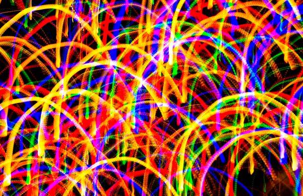 Darlene Roker Slinky. Photograph on aluminum. 12x18